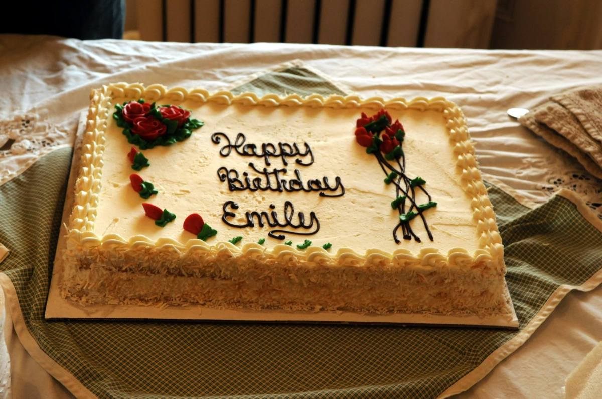 Of But A Single Pang: Emily Dickinson Birthday Celebration Includes Cake, Flowers, andPoetry