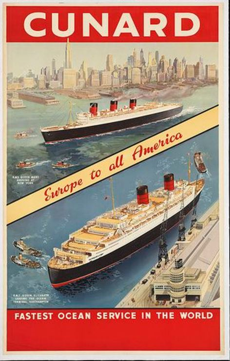 Majestic Ocean Liners the Subject of PEM Exhibit