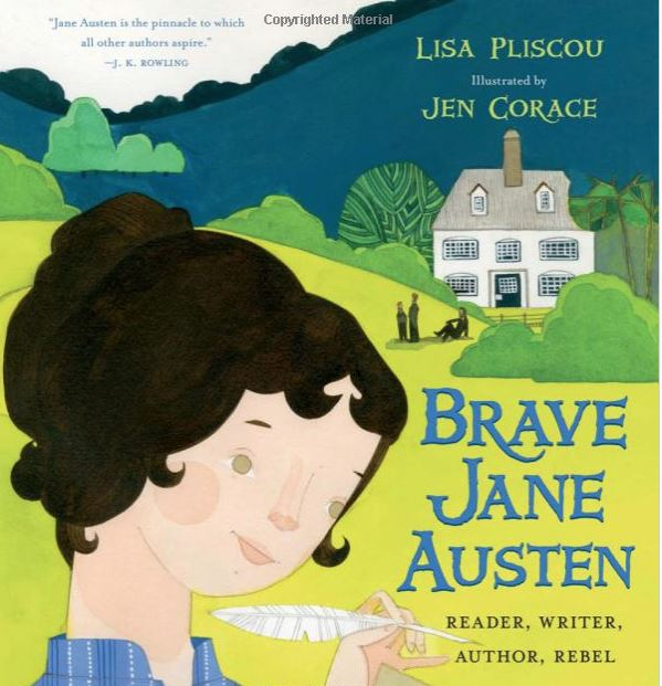 New Picture Book Biography of Jane Austen Glitters