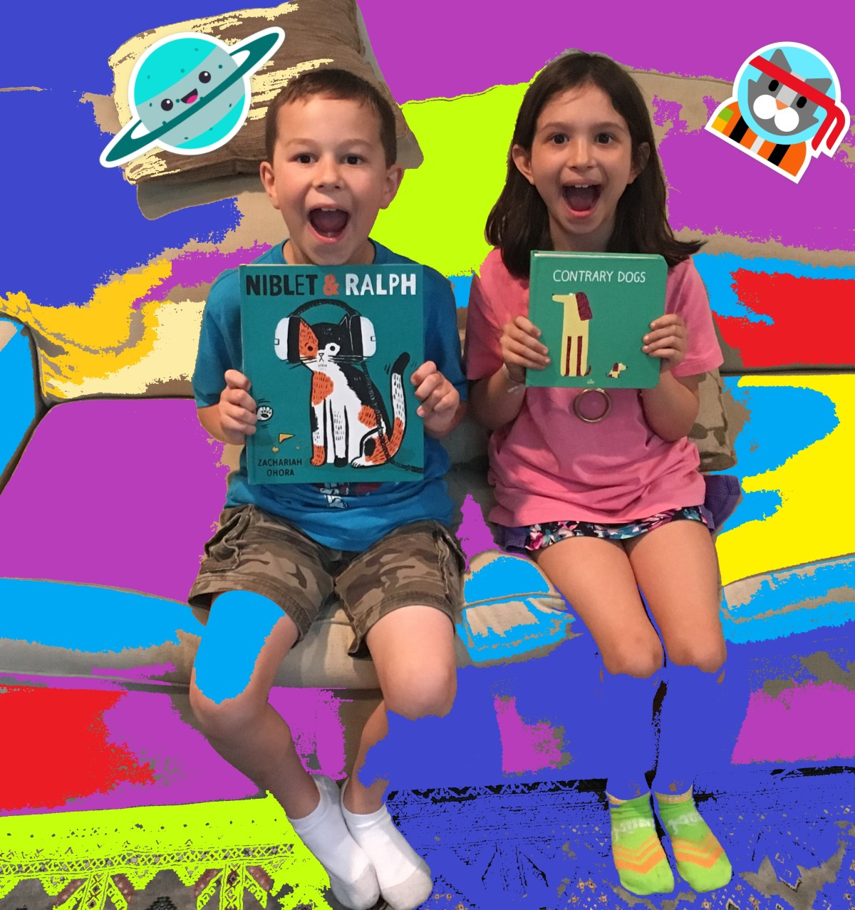 Abby and Jack Review Two New Children's Books