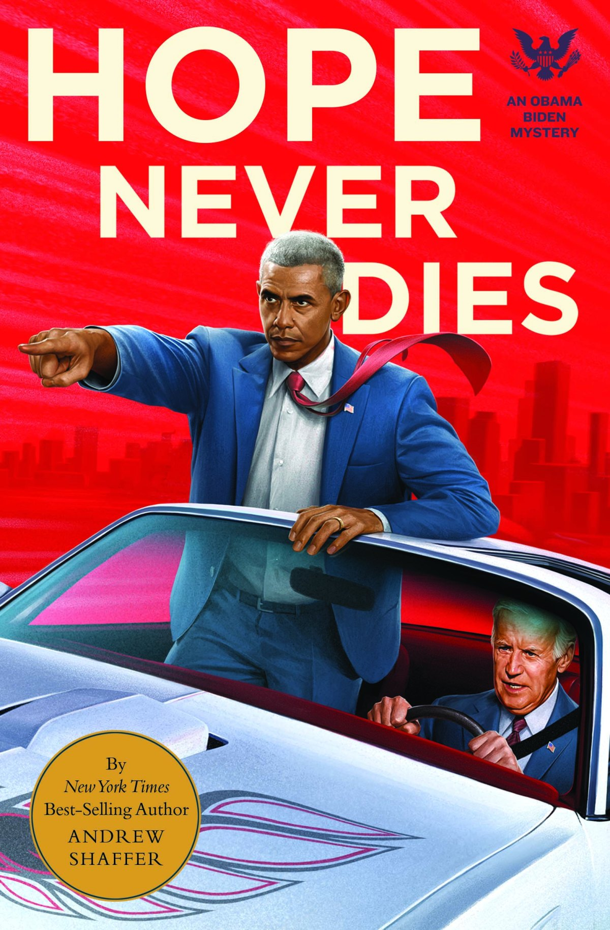 Hope Never Dies: A Q&A with Obama-Biden Mystery Writer Andrew Shaffer
