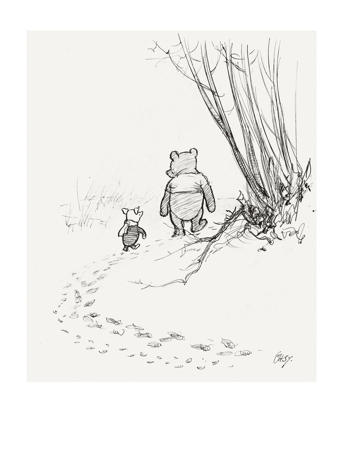Winnie-the-Pooh Wanders into the MFABoston