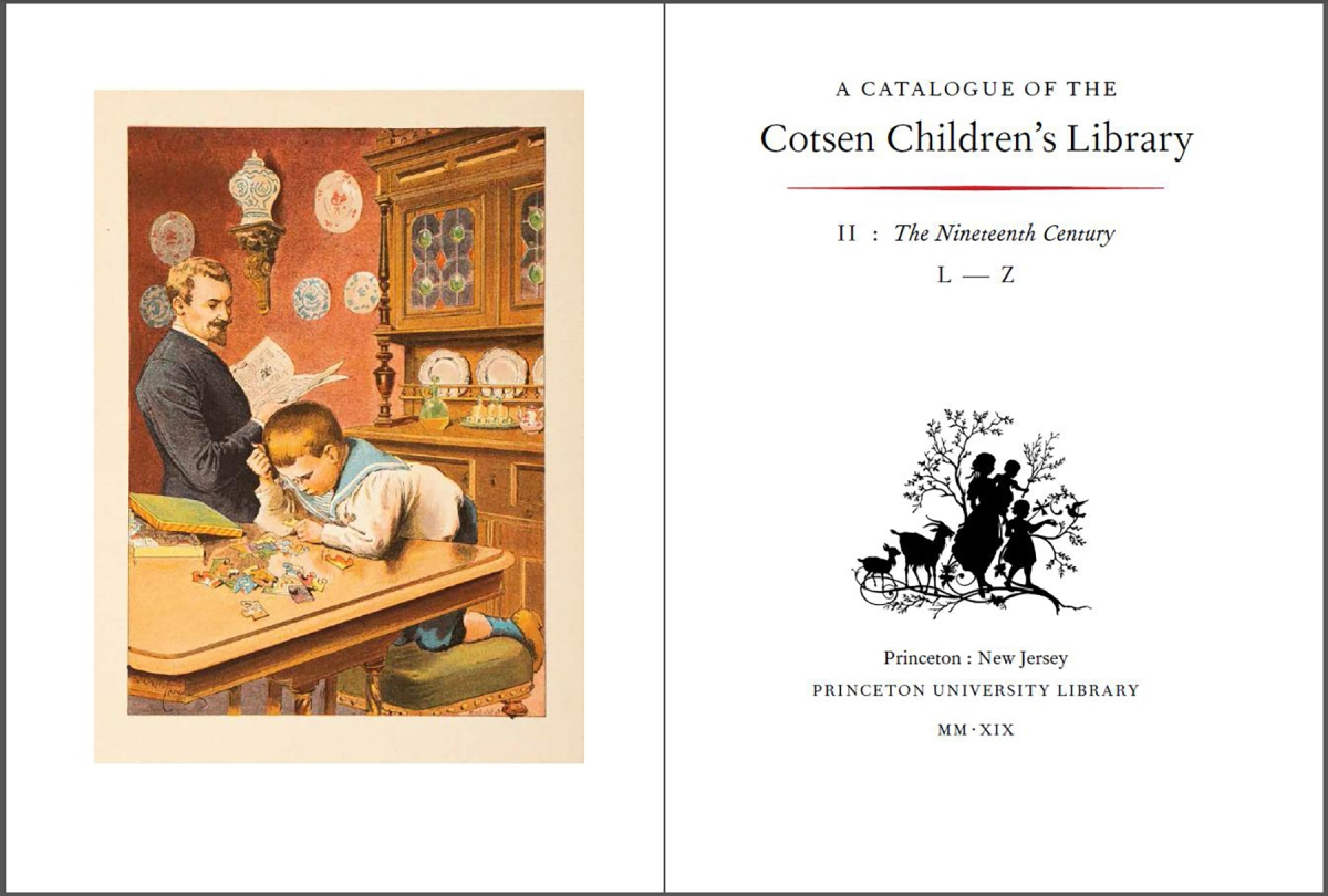 Cotsen Library Publishes Massive Dual-Volume Catalogue
