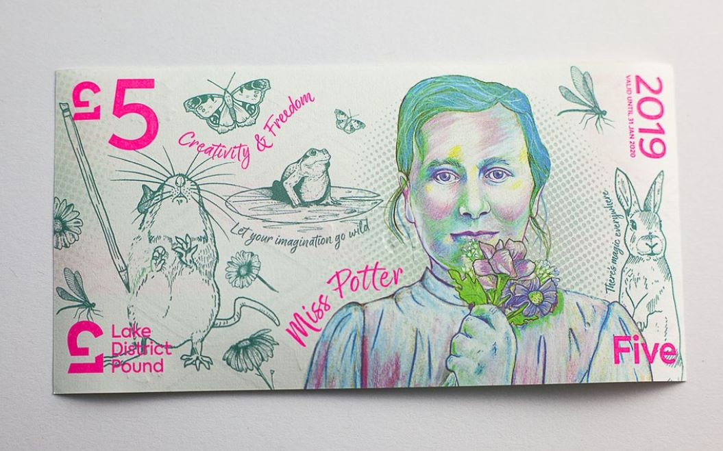 Beatrix Potter Portrait to Appear on Cumbrian Currency