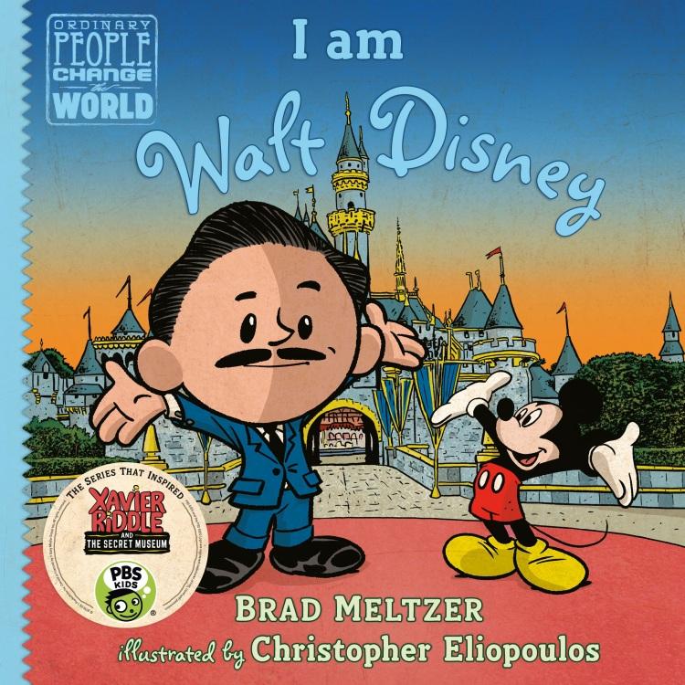 I Am Walt Disney Cover